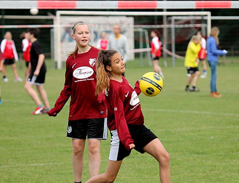 Schulfaustball Landesmeisterschaft in Delmenhorst (Foto: Sönke Spille)